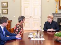 Об этом Грибаускайте сказала во вторник, 10 октября, на встрече в Вильнюсе с еврокомиссаром по вопросам конкуренции Маргрет Вестагер