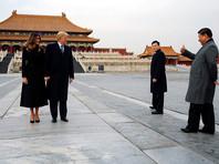"""В первый день визита Трампа Китай и США для """"разминки"""" подписали 19 контрактов на 9 млрд долларов"""