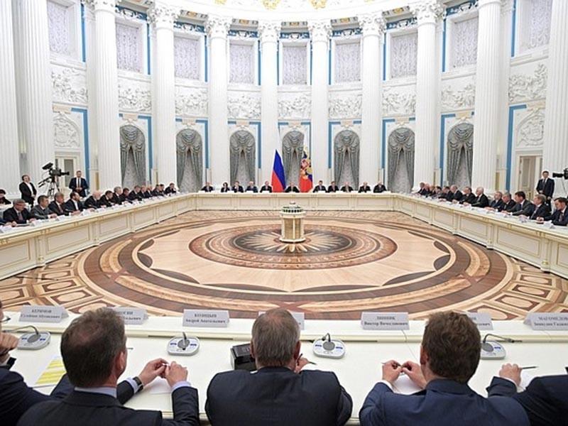 Президент Владимир Путин встретился с лидерами российского бизнеса