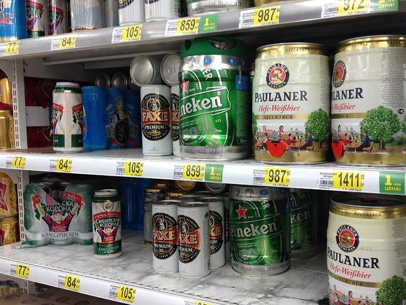 В России готовится введение маркировки пива