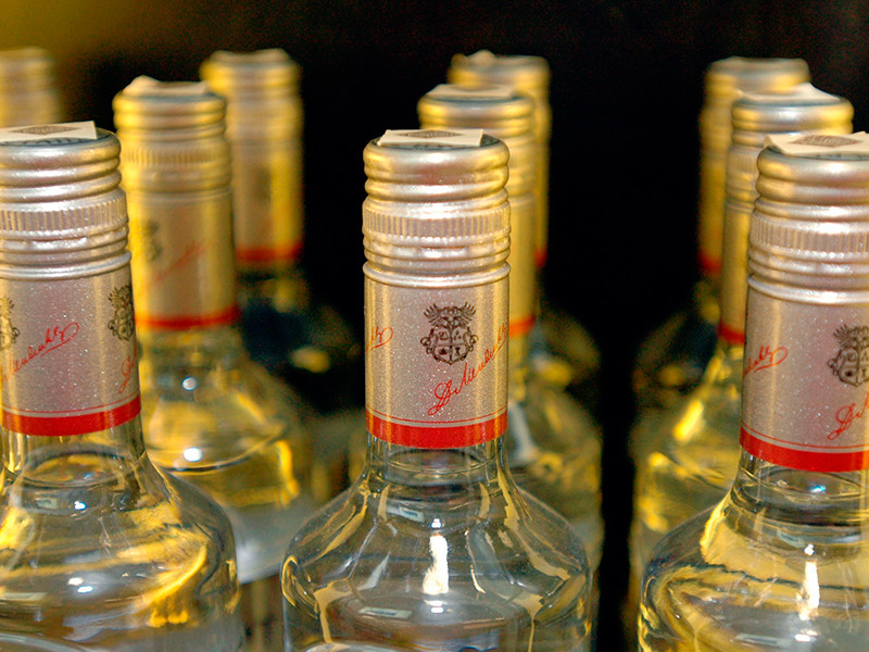 Итоги 2017 года:  в РФ возросло производство водки и сократилось производство вина