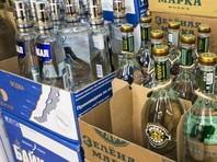 Продажи водки в России сократились на 16,6%
