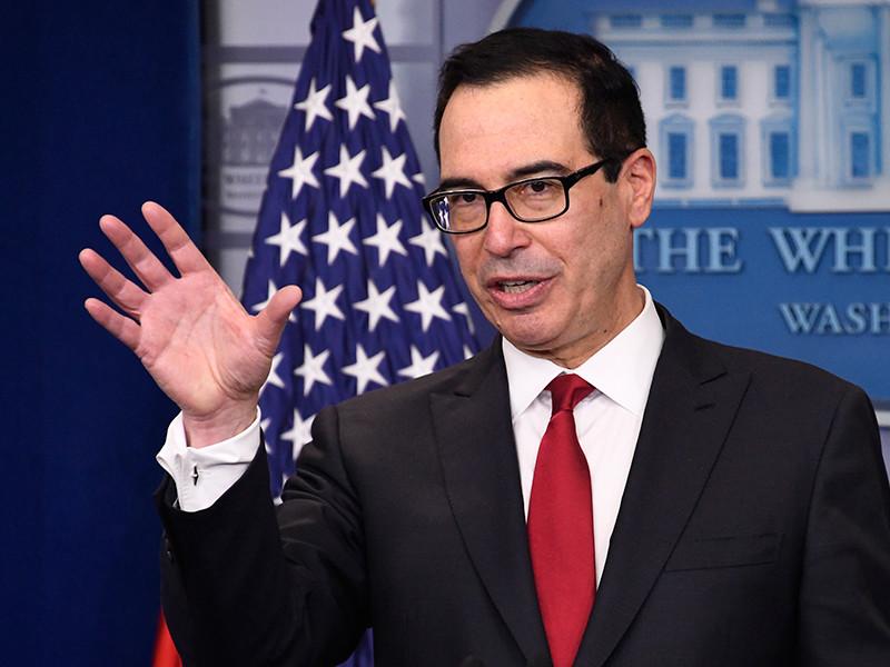 Министр финансов Стивен Мнучин назвал ослабление доллара благом для экономики США