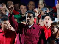 "Bloomberg: победа Мадуро на президентских выборах грозит Венесуэле ""нефтяными"" санкциями"