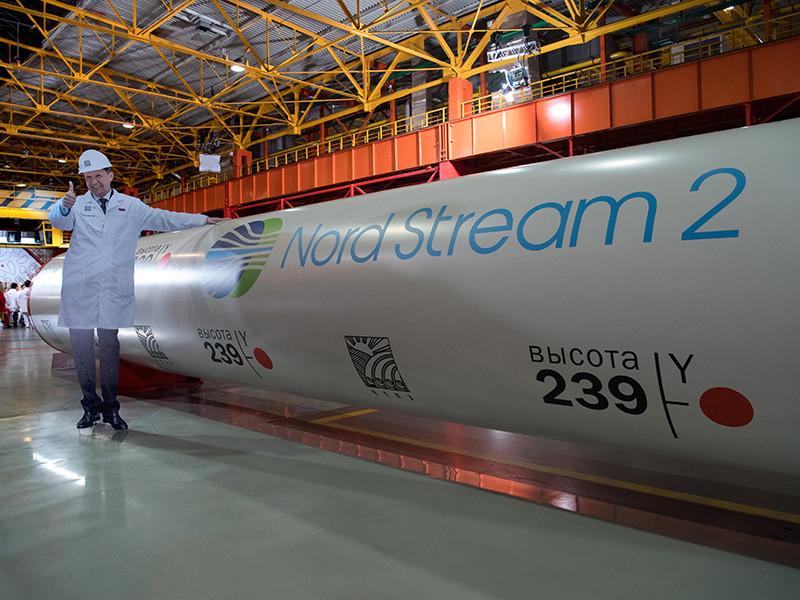 """В отношении компаний, которые принимают участие в реализации проекта """"Северный поток - 2"""", могут быть введены ограничительные меры. Об этом агентству Reuters заявил представитель Госдепартамента США"""
