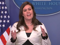 """По словам Сандерс, США и Китай """"продолжат работу по всем нерешенным вопросам до 1 марта 2019 года"""" - срок, в течение которого они обязались заключить торговые договоренности"""