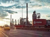 Экспорт нефти из Венесуэлы в США сократился за неделю почти втрое