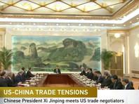 """Торговые переговоры """"привели к прогрессу"""", заявили в Вашингтоне и в Пекине"""