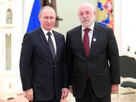 Владимир Путин и Виктор Вексельберг, январь 2017 года