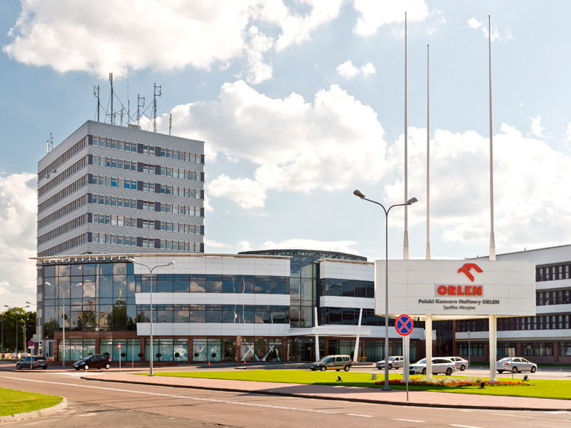 Головной офис PKN Orlen в Плоцке