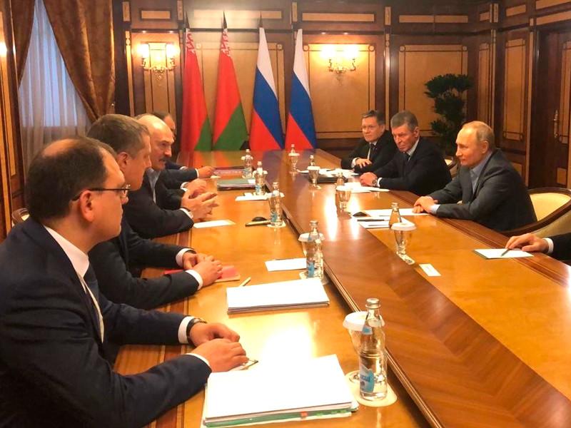 Россия и Белоруссия договорились о поставках российского газа и нефти