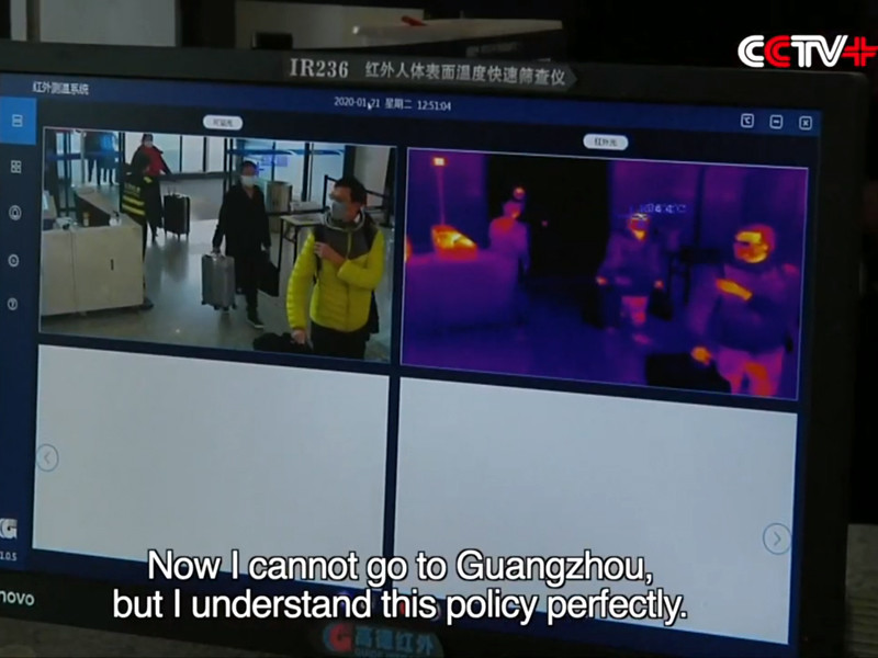 Из-за коронавируса не летают примерно две трети самолетов китайских авиакомпаний