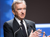 Генеральный директор французской группы компаний LVMH (Louis Vuitton Moet Hennessy) Бернар Арно