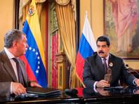 Игорь Сечин( на фото - слева) и Николас Мадуро, 28 июля 2016 года