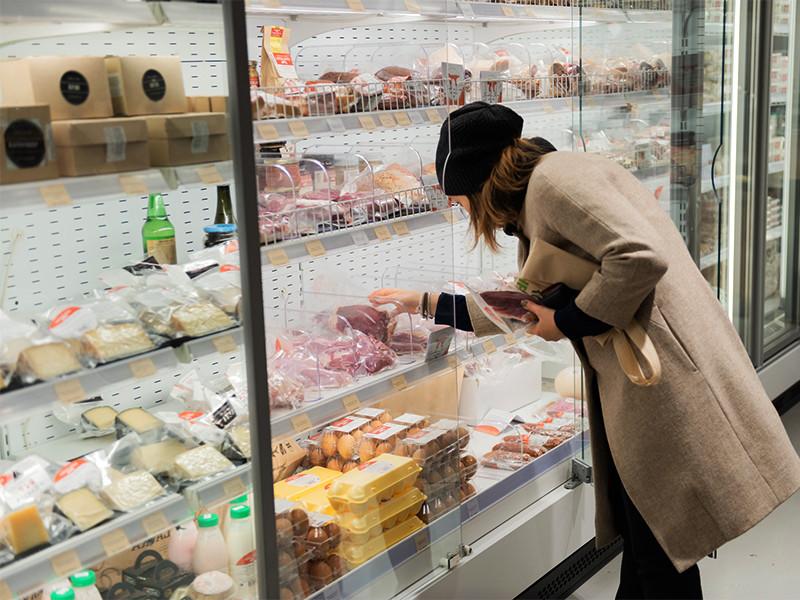 В РФ не зафиксировано существенных изменений цен на продукты питания. Если они не импортные