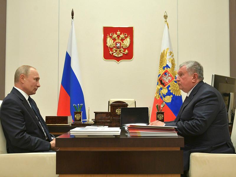 Встреча без «социальной дистанции»: в разгар кризиса Путин дал Сечину налоговые льготы для «Роснефти»