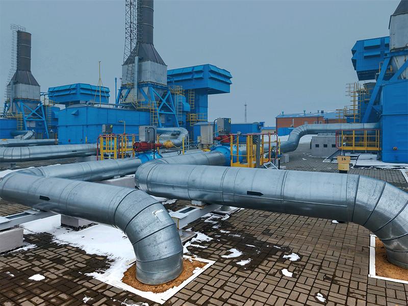 Транзит газа по трубе «Ямал-Европа» снижен почти до нуля