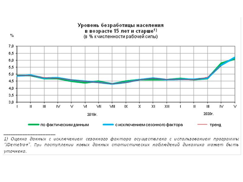 Основной удар коронавируса по рынку труда РФ в мае приняли на себя женщины