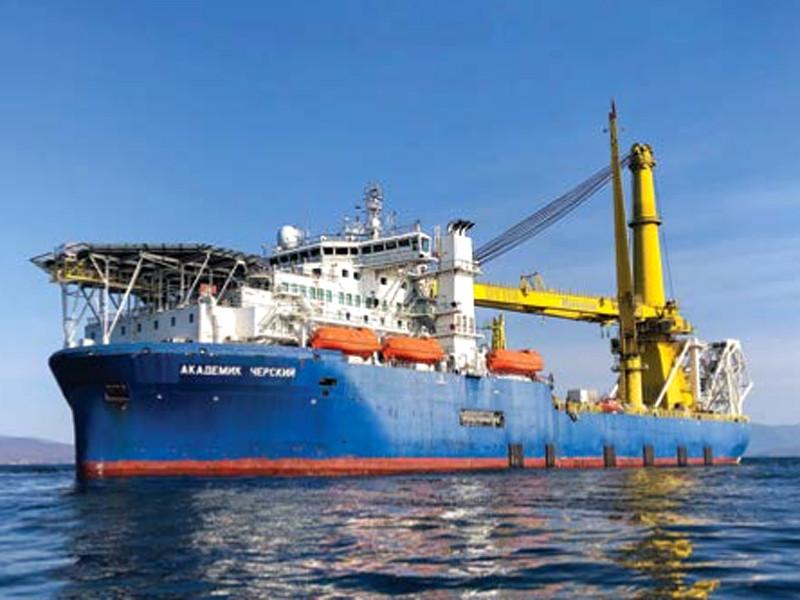 """Российское судно """"Академик Черский"""", способное достроить """"Северный поток-2"""", перестало принадлежать """"Газпрому"""""""
