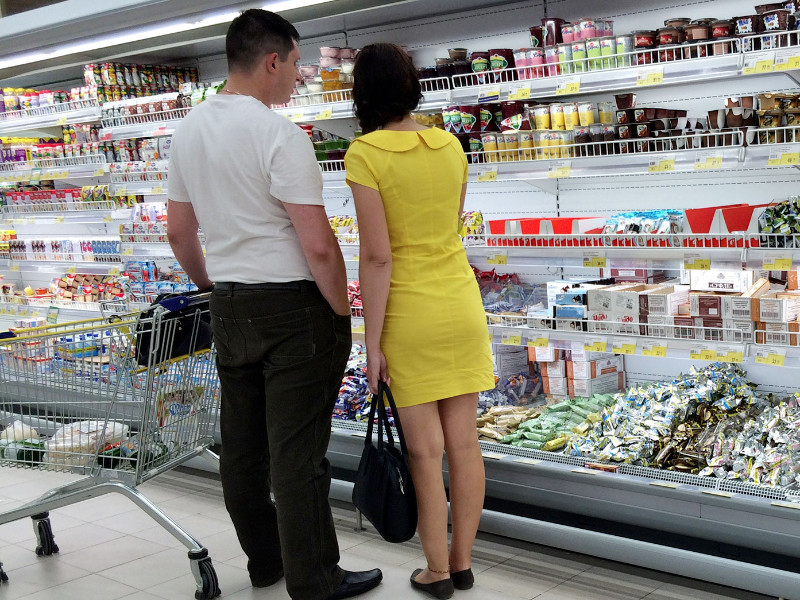 Во втором квартале отмечен рекордный спад покупательной способности россиян