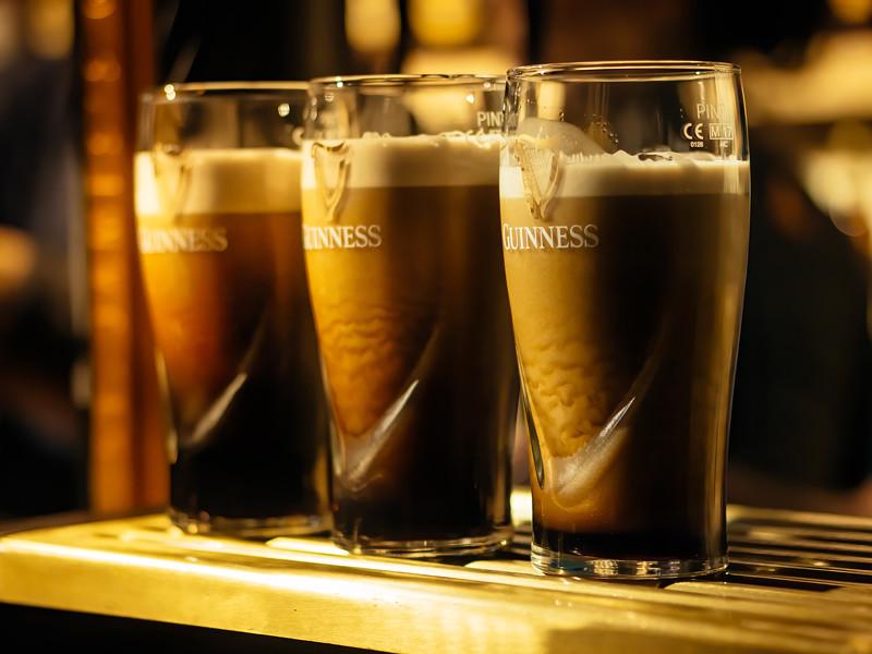 В Великобритании отозвали с рынка безалкогольное пиво Guinness 0.0