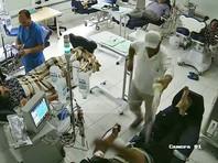 В албанской больнице пациент облил горючим и поджег оппонента. Три человека сгорели заживо (ВИДЕО)