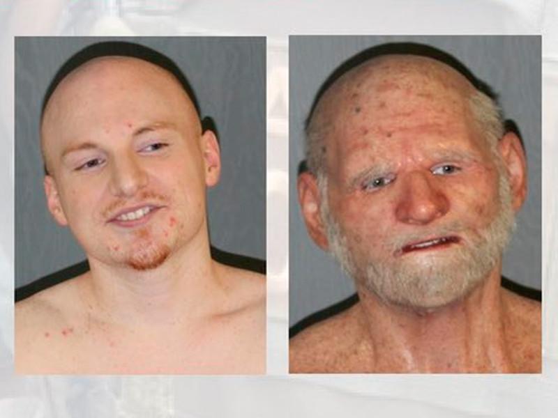В США драгдилер месяцами прятался от полицейских под маской старика