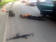 В Харькове пьяный дезертир с автоматом стрелял из окна такси