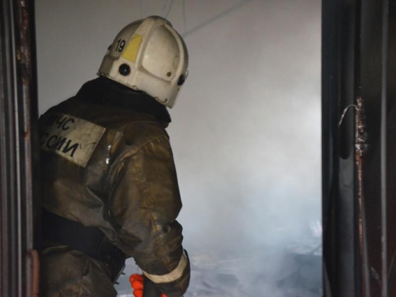 Полиция Красноярского края ищет преступников, которые совершили поджог кабинета в здании администрации Шушенского района