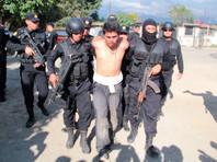 В Гватемале схвачен член банды Barrio-18, убивший за год 40 человек
