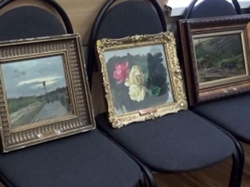 В Московской области задержаны трое предполагаемых похитителей картин Исаака Левитана стоимостью около 77 млн рублей