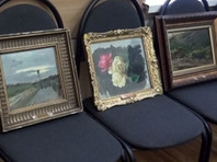 В Подмосковье задержаны три человека, укравшие картины Левитана с помощью кувалды