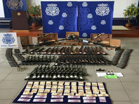 В Испании у подпольных оружейников изъято до 12 тыс. единиц оружия, в том числе зенитные пулеметы