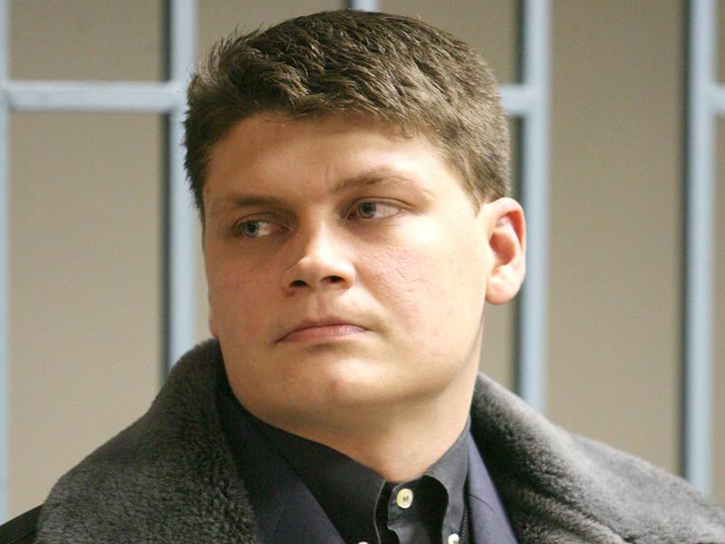 Бывший офицер российской армии Сергей Аракчеев, осужденный за убийство мирных чеченских жителей, во время оглашения приговора в Северокавказском окружном военном суде, 27 декабря 2007 года