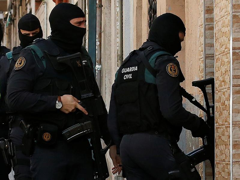 Полиция Испании обезвредила преступную группировку, которая промышляла ограблениями банков