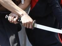 В Москве пьяный мужчина с самурайским мечом напал на прохожего