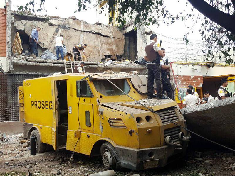 В Парагвае бразильская банда из 60 человек совершила