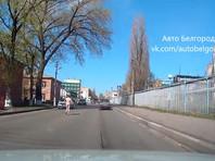 В Белгороде голый наркоман с ножом бегал по дороге и повредил 6 автомобилей (ВИДЕО)