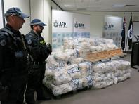 В Австралии изъяли крупнейшую партию метамфетамина весом 903 килограмма
