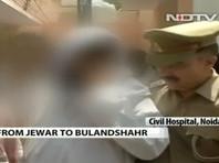 В Индии грабители  остановили микроавтобус с семьей, изнасиловали четырех женщин и застрелили их родственника
