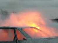 В Кузбассе кредитор сжег автомобиль мужчины, не вернувшего долг в 1 тысячу рублей