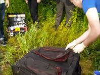 В Прикарпатье в пруду найден чемодан с трупом болгарской студентки