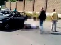 В Уфе возле торгового центра взорван автомобиль: водителю оторвало ноги
