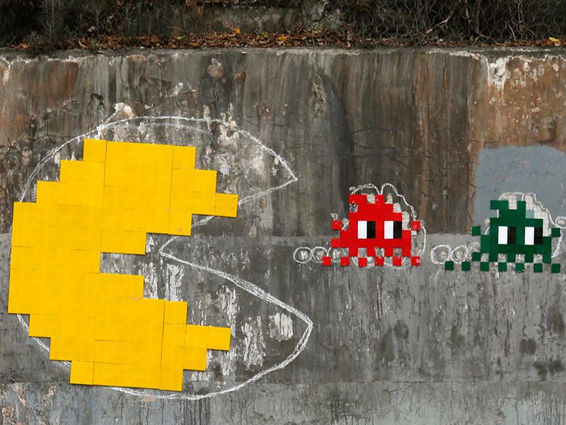 В Париже воры похитили мозаики, созданные уличным художником по прозвищу Космический Захватчик