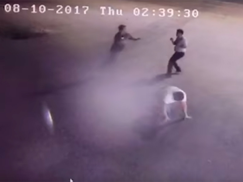 В Казахстане пьяные высокопоставленные полицейские устроили драку с поножовщиной