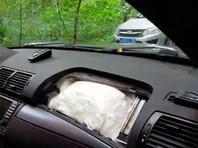 В Химкинском лесу московские силовики задержали водителя BMW, перевозившего 30 кг наркотиков