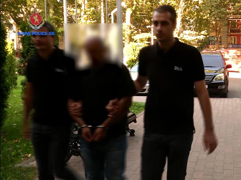 В Тбилиси пойманы грабители, избившие российского туриста
