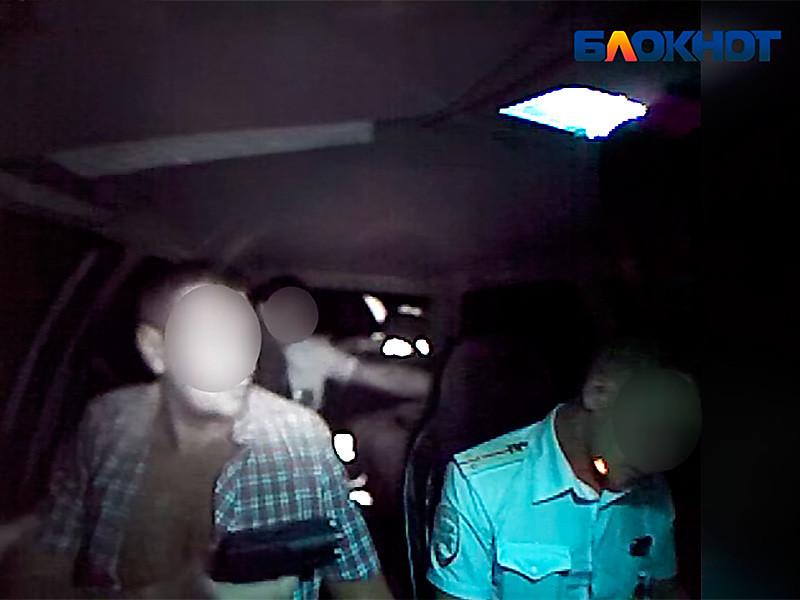 Под Волгоградом водитель-наркоман выстрелил в глаз полицейского (ВИДЕО)