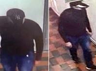 """Личности подозреваемых в неудачном ограблении пока не установлены. Их сняли камеры наблюдения, но лица преступники прятали под козырьками бейсболок с логотипами """"Nike"""" и """"NY"""""""