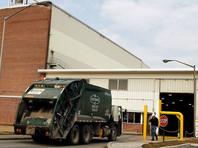 В Пенсильвании заключенный при попытке побега попал под пресс мусоровоза